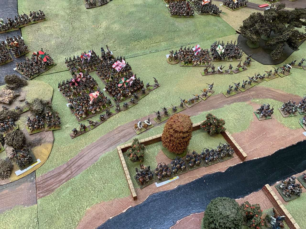 Russian attack on the Pheasantry