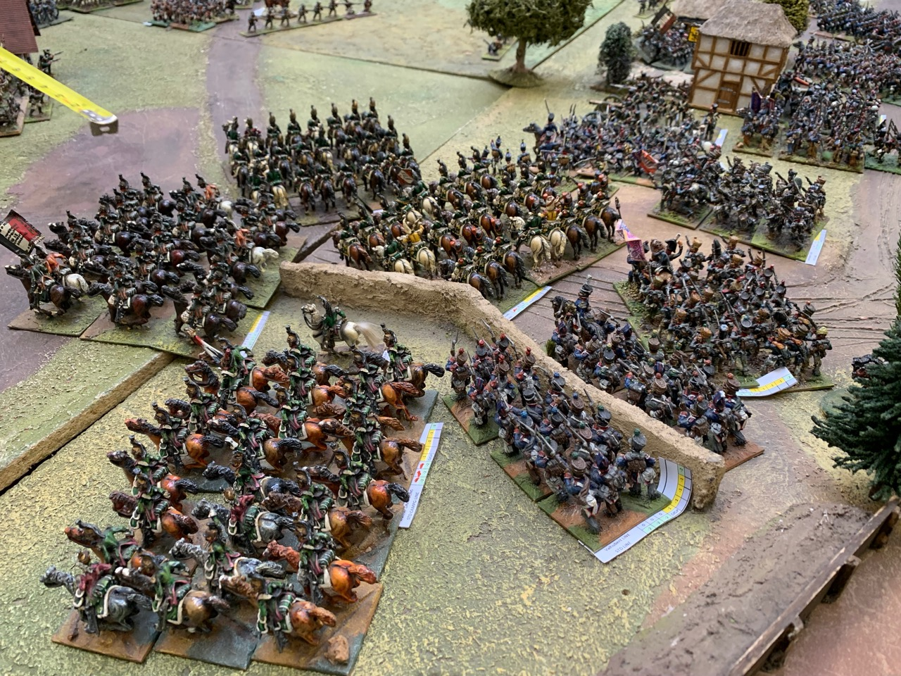 Murat's supporting light cavalry