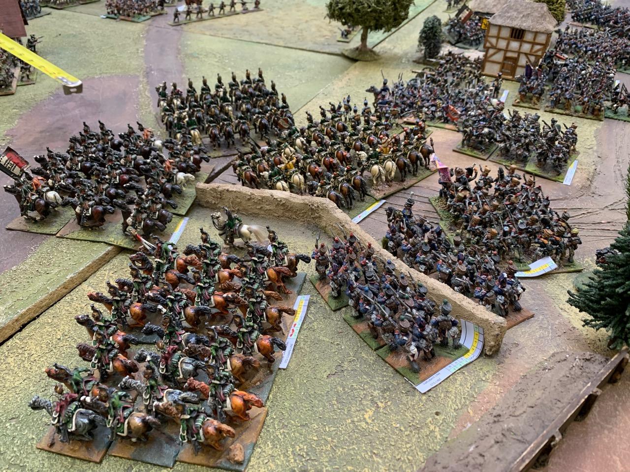 Murat's supporting light cavalry