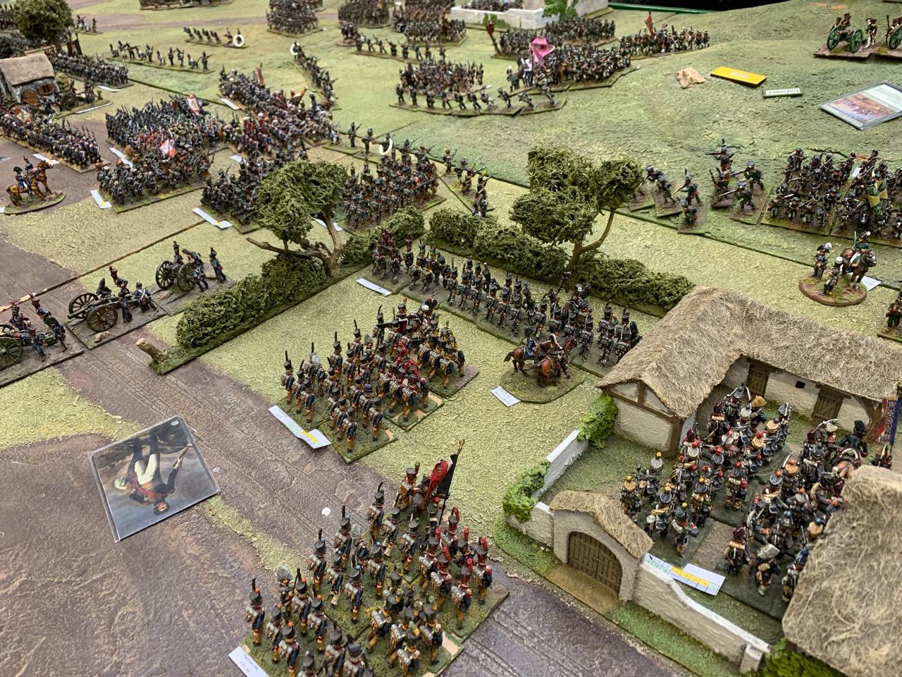 Bernadotte takes the village