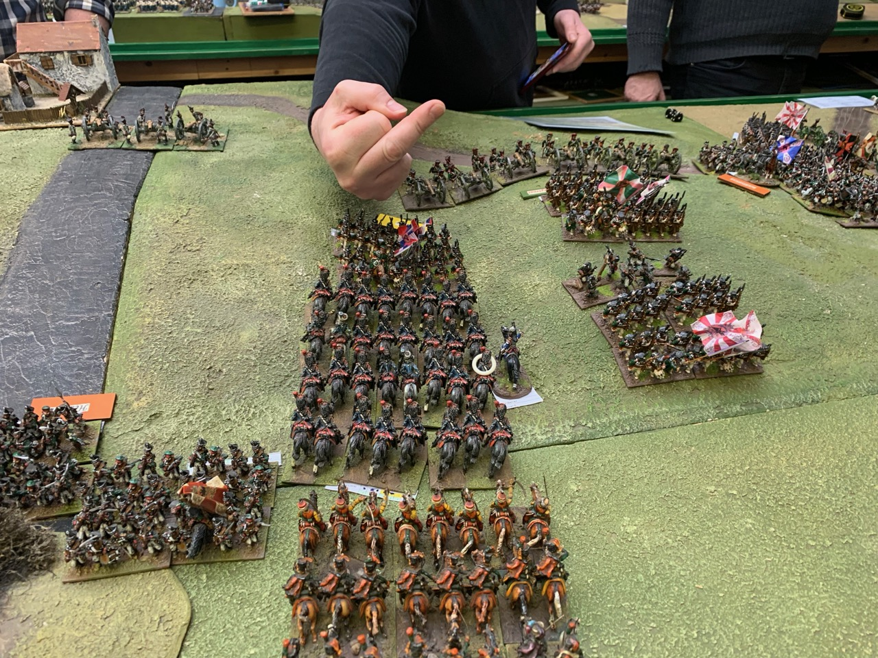Peak of the Guard cavalry advance
