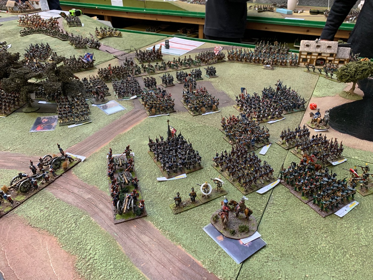 Soult advances on the heights after securing the French right