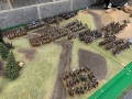 Murat's massed cavalry