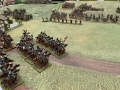 Ligt cavalry charge