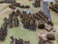 Final Russian counter attach with Cuirassier reserve